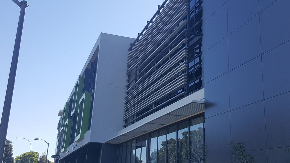 RVI Installs Bespoke Louvre System and Fire Retardant Panels at Panorama Health Care Centre