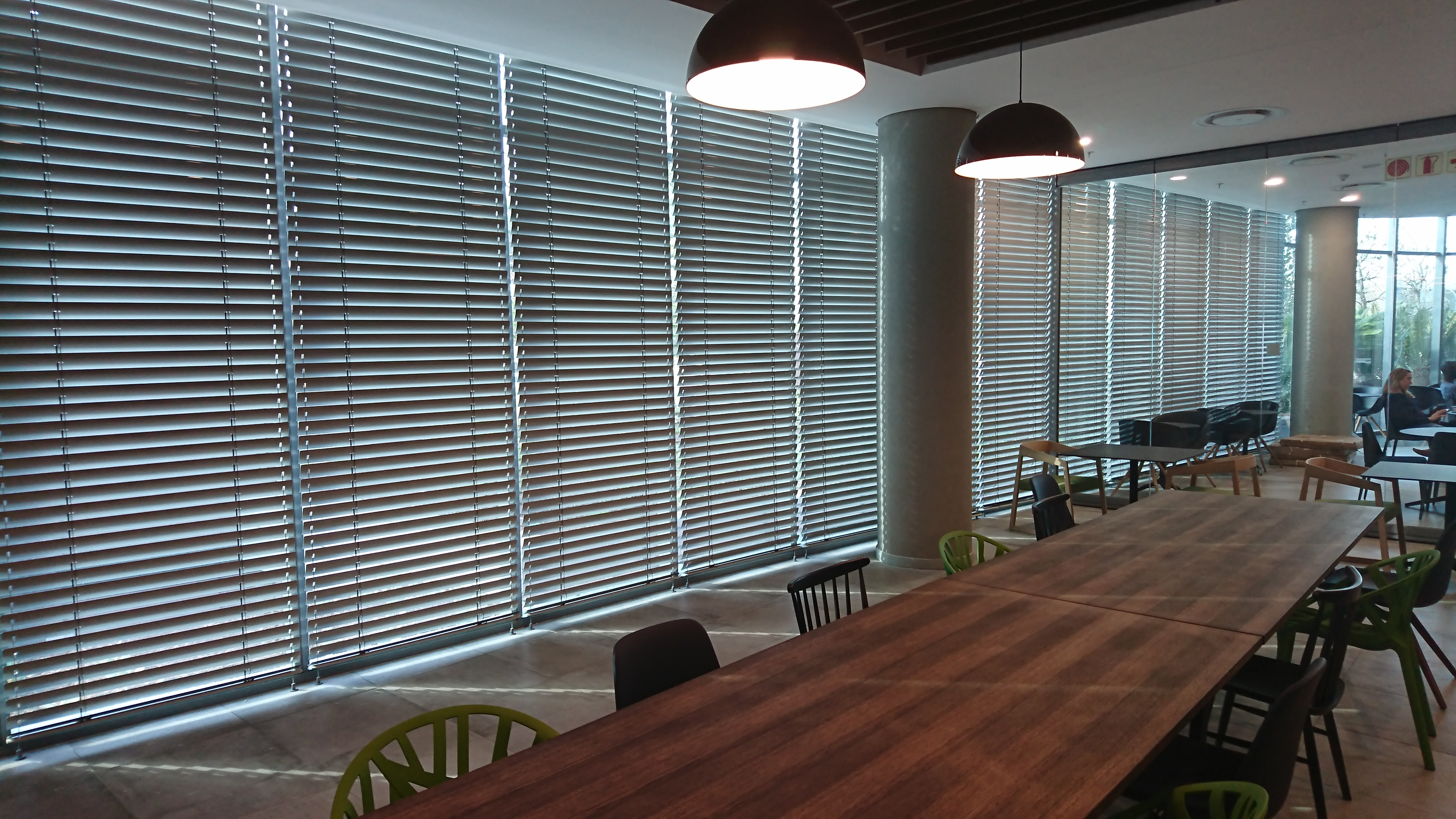 Discovery Sandton: Internal Blinds